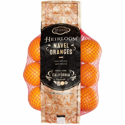 Private Selection™ Heirloom Navel Oranges Perspective: front