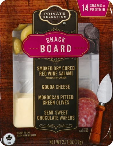 Private Selections™ Snack Board Perspective: front
