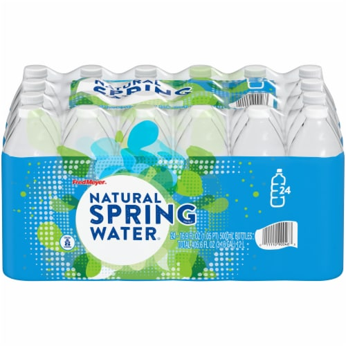 Fred Meyer® Natural Spring Water Perspective: front