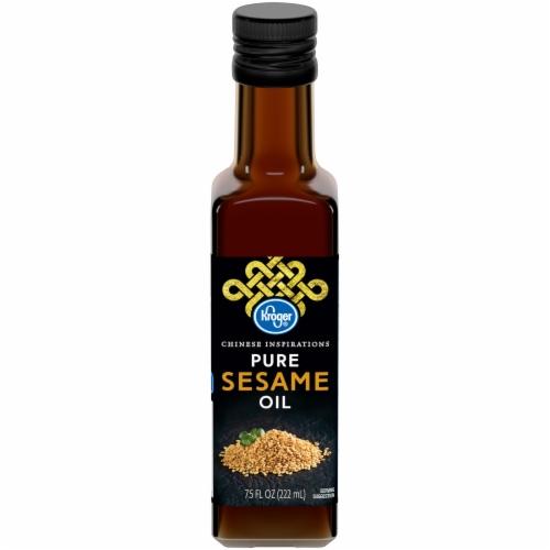 Kroger® Pure Sesame Oil Perspective: front