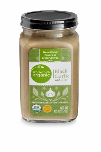 Simple Truth Organic™ Black Garlic Aioli Perspective: front