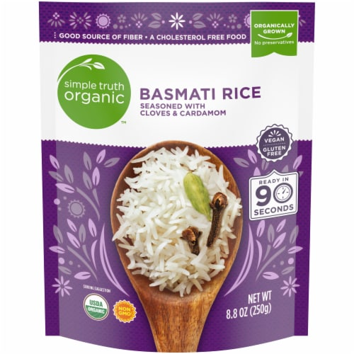 Simple Truth Organic™ 90 Second Clove & Cardamom Basmati Rice Perspective: front