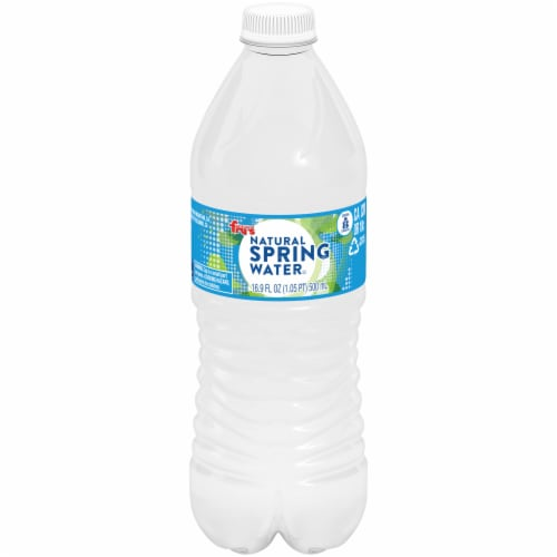 Fry's® Natural Spring Water Perspective: front