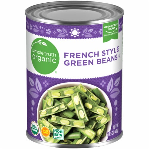 Simple Truth Organic® French Style Green Beans Perspective: front