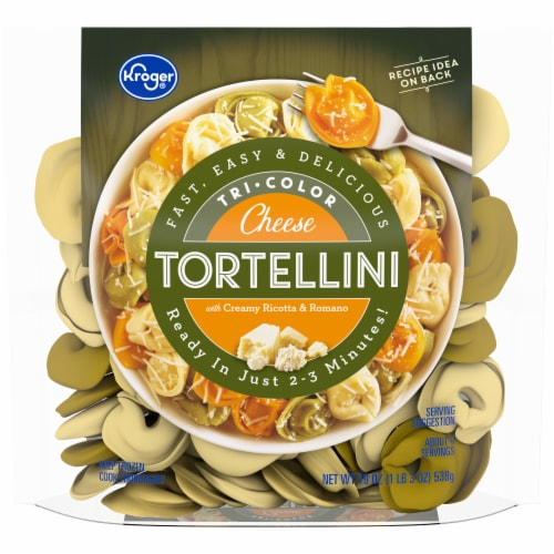 Kroger® Tri-Color Cheese Tortellini Perspective: front