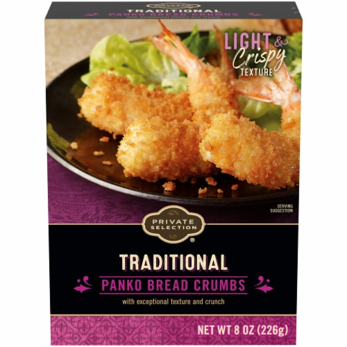 Private Selection® Traditional Panko Bread Crumbs Perspective: front