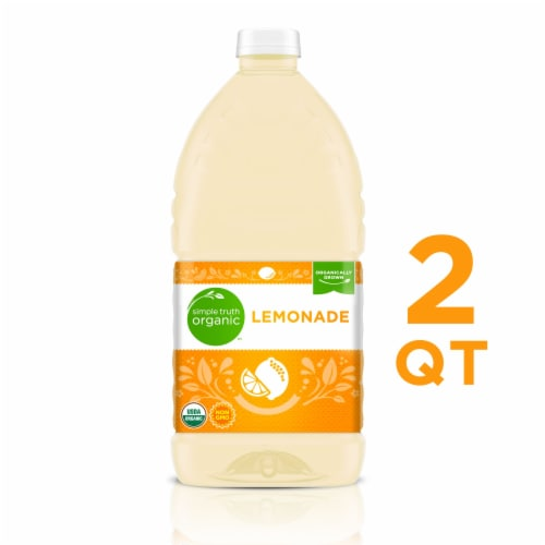 Simple Truth Organic™ Lemonade Perspective: front
