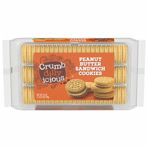 Crumbdillyicious™ Peanut Butter Sandwich Cookies Perspective: front