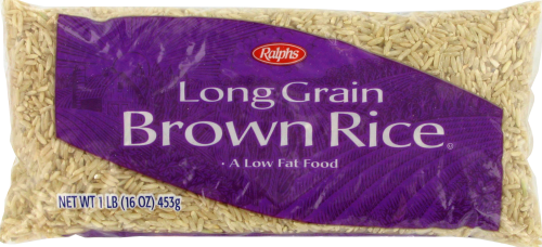 Ralphs Long Grain Brown Rice Perspective: front
