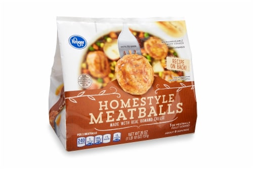 Kroger® Homestyle Meatballs Perspective: front