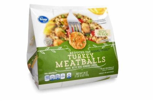 Kroger® Reduced Fat Turkey Meatballs Perspective: front