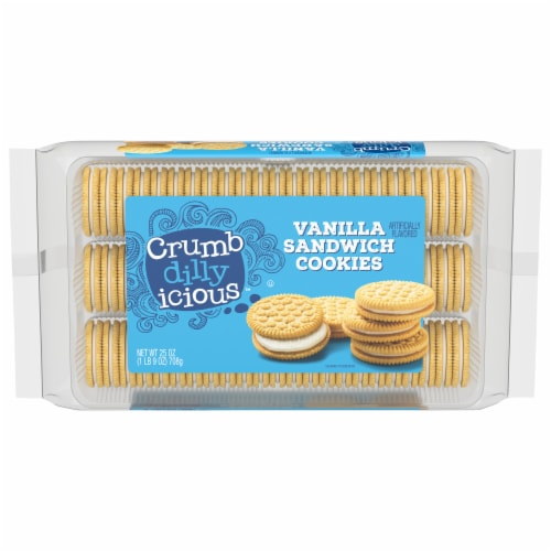 Crumbdillyicious™ Vanilla Sandwich Cookies Perspective: front