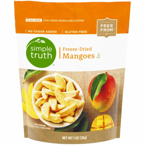 Simple Truth™ Freeze-Dried Mangoes Perspective: front