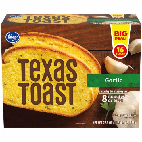 Kroger® Garlic Texas Toast Perspective: front