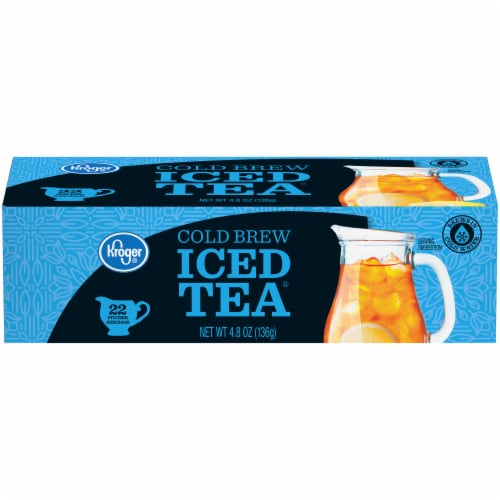 Kroger® Cold Brew Iced Tea Bags 22 Count Perspective: front
