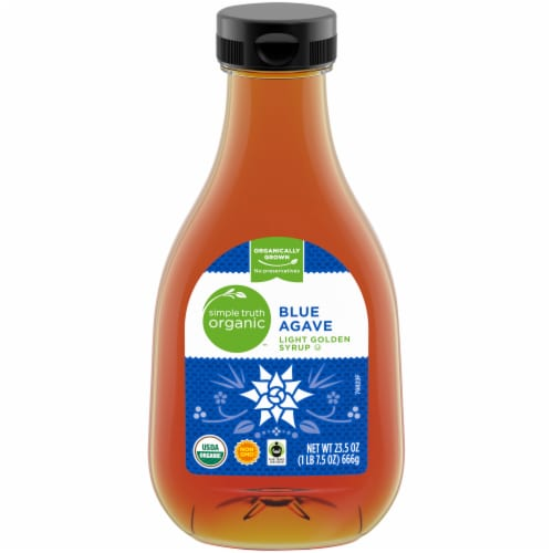 Simple Truth Organic™ Blue Agave Light Golden Syrup Perspective: front