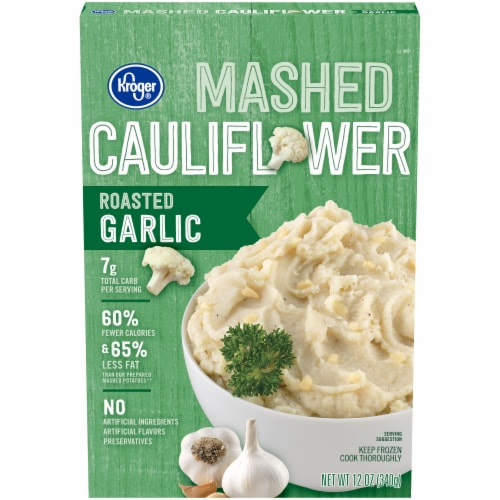 Kroger® Roasted Garlic Mashed Cauliflower Perspective: front