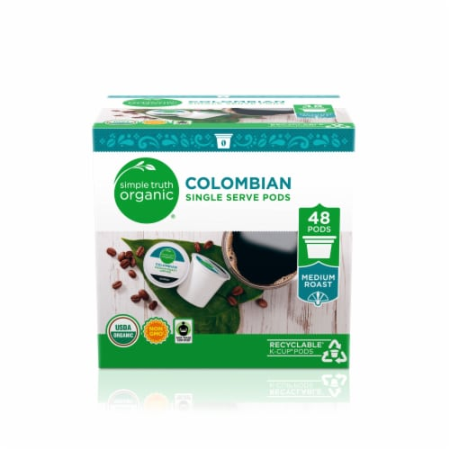 Simple Truth Organic™ Colombian Coffee Singles Perspective: front