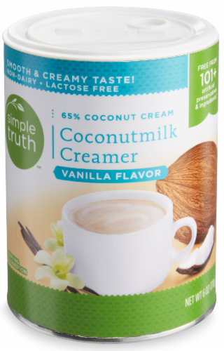 Simple Truth™ Vanilla Flavor Coconutmilk Creamer Perspective: front