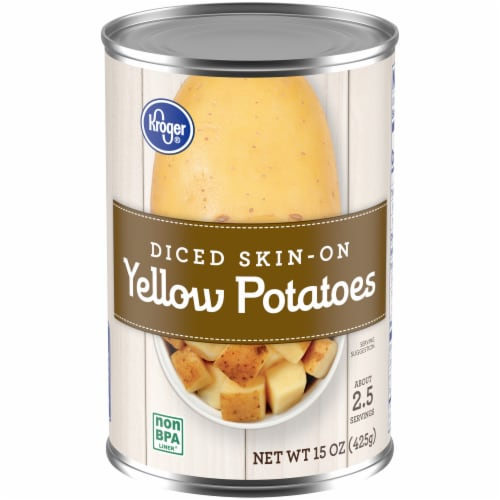 Kroger® Diced Skin-On Yellow Potatoes Perspective: front