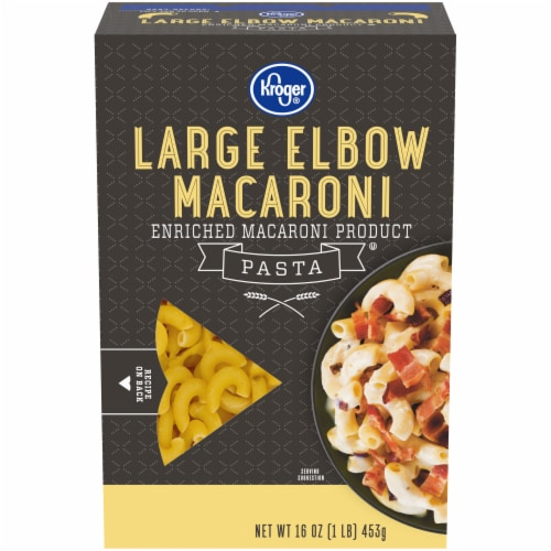 Kroger® Large Elbow Macaroni Pasta Perspective: front