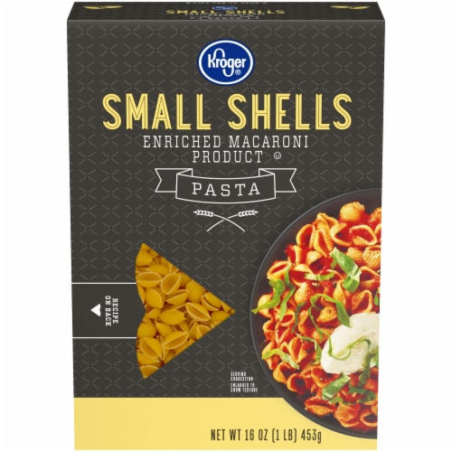 Kroger® Small Shell Macaroni Perspective: front