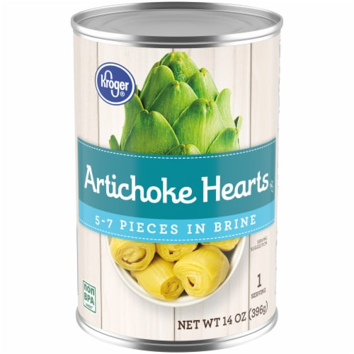 Kroger® Artichoke Hearts in Brine Perspective: front