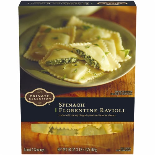 Private Selection™ Spinach Florentine Ravioli Perspective: front