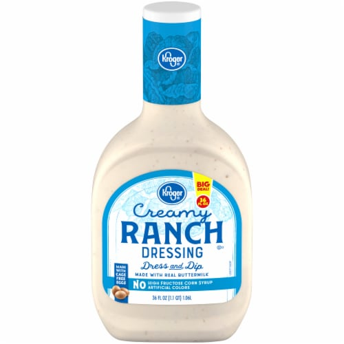 Kroger® Creamy Ranch Dressing Perspective: front