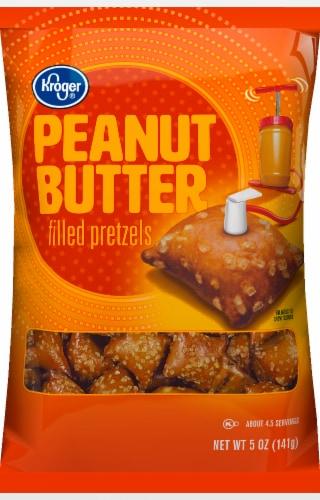Kroger® Peanut Butter Filled Pretzels Perspective: front