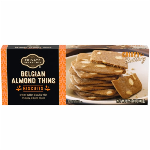 Private Selection® Belgian Almond Thins Perspective: front