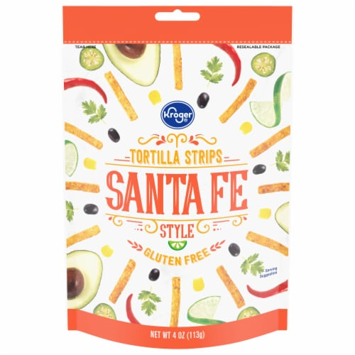 Kroger® Santa Fe Tortilla Strips Perspective: front