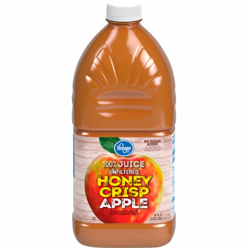 Kroger® Unfiltered Honey Crisp Apple Juice Perspective: front