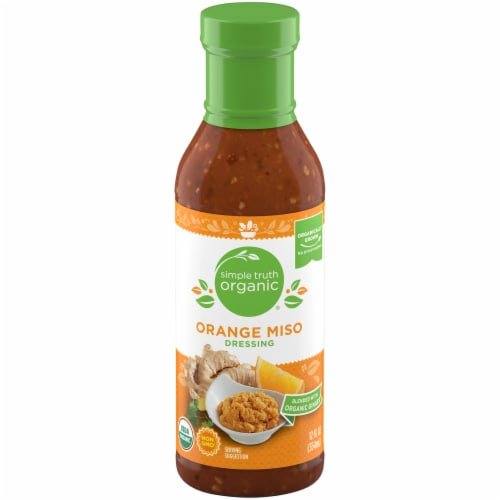 Simple Truth Organic® Orange Miso Dressing Perspective: front