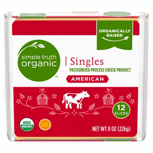 Simple Truth Organic™ American Cheese Singles Perspective: front