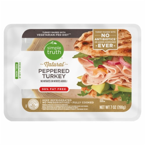 Simple Truth™ Peppered Turkey Slices Perspective: front