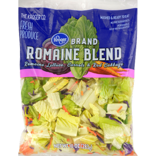 Kroger® Romaine Blend Salad Perspective: front