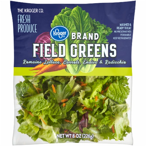 Kroger® Field Greens Salad Mix Perspective: front