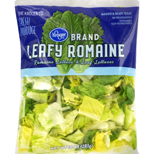 Kroger® Leafy Romaine Salad Perspective: front