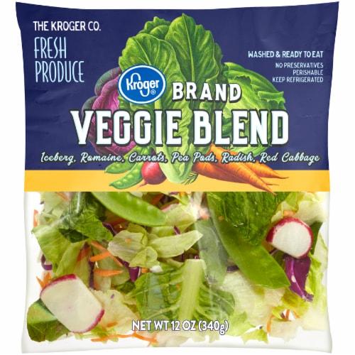 Kroger® Veggie Blend Salad Perspective: front