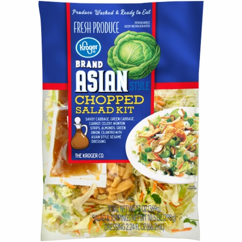 Kroger® Asian Style Chopped Salad Kit Perspective: front