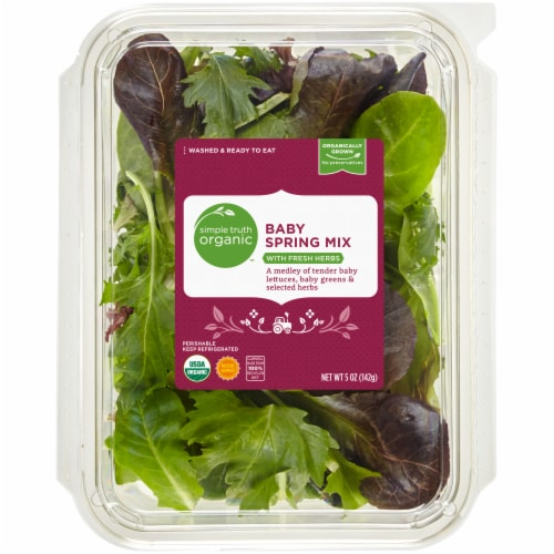 Simple Truth Organic™ Baby Spring Mix Perspective: front