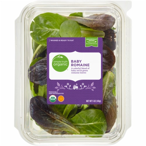 Simple Truth Organic™ Baby Romaine Lettuce Perspective: front