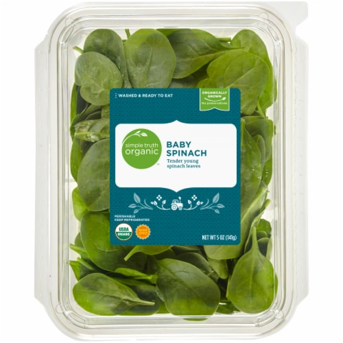 Simple Truth Organic™ Baby Spinach Perspective: front
