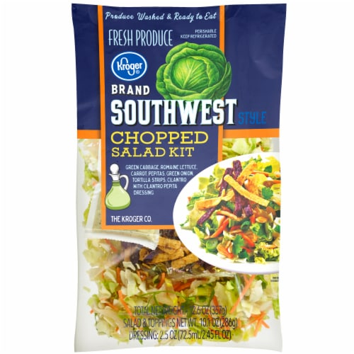 Kroger® Southwest Style Chopped Salad Kit Perspective: front