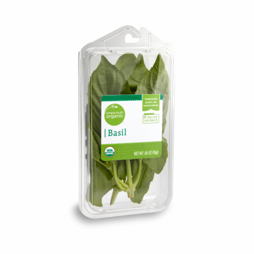 Simple Truth Organic™ Basil Perspective: front
