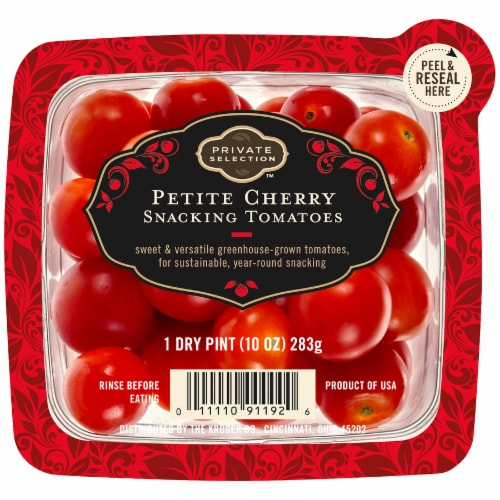 Private Selection™ Petite Cherry Snacking Tomatoes Perspective: front