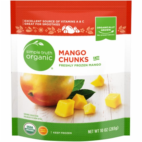 Simple Truth Organic® Frozen Mango Chunks Perspective: front