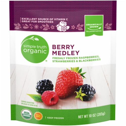 Simple Truth Organic™ Berry Medley Frozen Fruit Perspective: front
