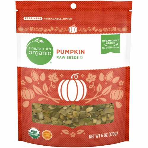 Simple Truth Organic® Raw Pumpkin Seeds Perspective: front